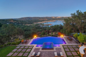 loomis home with folsom lake views